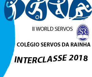 Abertura do II World Servos – Jogos Interclasse.
